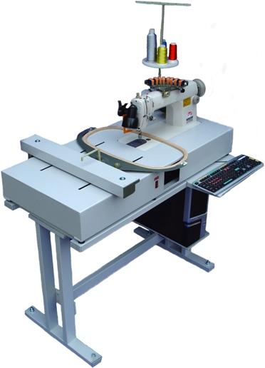 Вышивальное оборудование. Вышивальная машина НП-4М