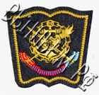 шеврон вышитый ВМФ курсанты