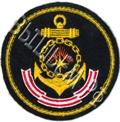 шеврон вышитый ВМФ Северный флот